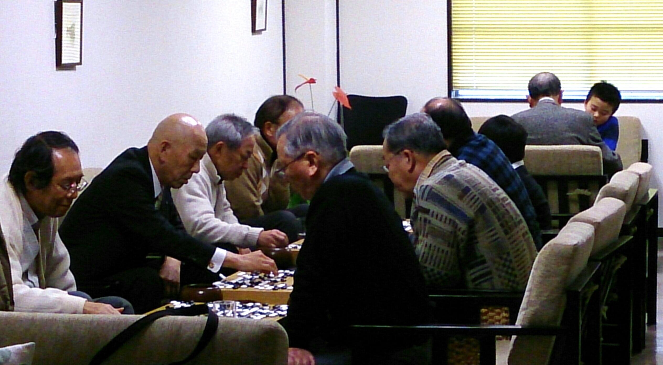 今日の囲碁サロン
